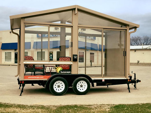 Sunscape Sunrooms Display Trailer