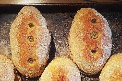 Olive Kamut Bread