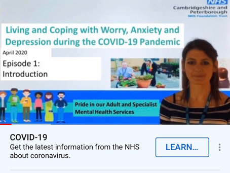 Useful resource for coping with anxiety and depression during COVID-19