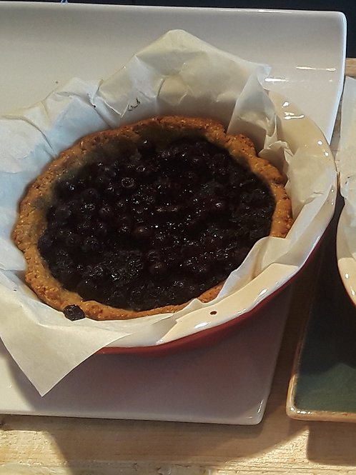 Blueberry Kamut Pie