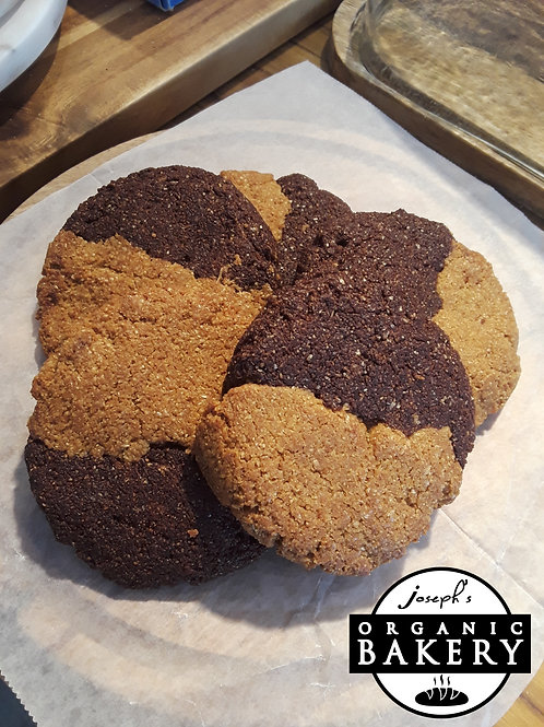 Chocolate Vanilla Kamut Cookie