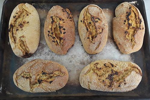 Onion Kamut Bread