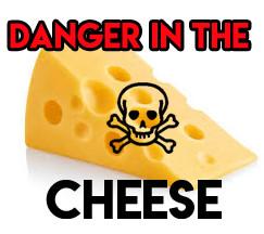 Toxic Cheese is behind High Cholesterol, High Blood Pressure & Heart Disease