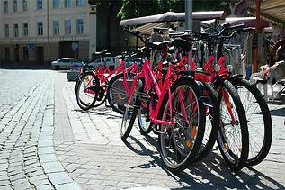 Brescia - Corso Zanardelli - Biciclette