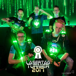 Lasertag-Turnier Seigerfoto Instagram