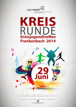 Plakat Kreisjugendtreffen 2014
