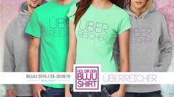 BUJU 2015 Werbung T-Shirt Facebook