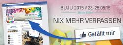 BUJU 2015 Werbung Facebook App