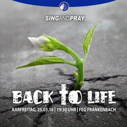 Sing & Pray 2016 Werbung Instagram 2