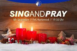 SIng & Pray 2016 Werbung Facebook