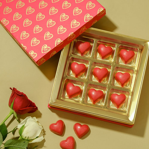 Valentine Small Chocolate Box