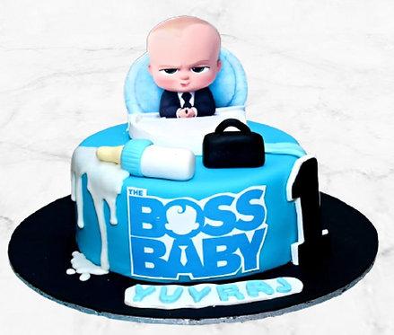Boss Baby in Office