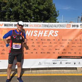 Valencia Half Marathon!
