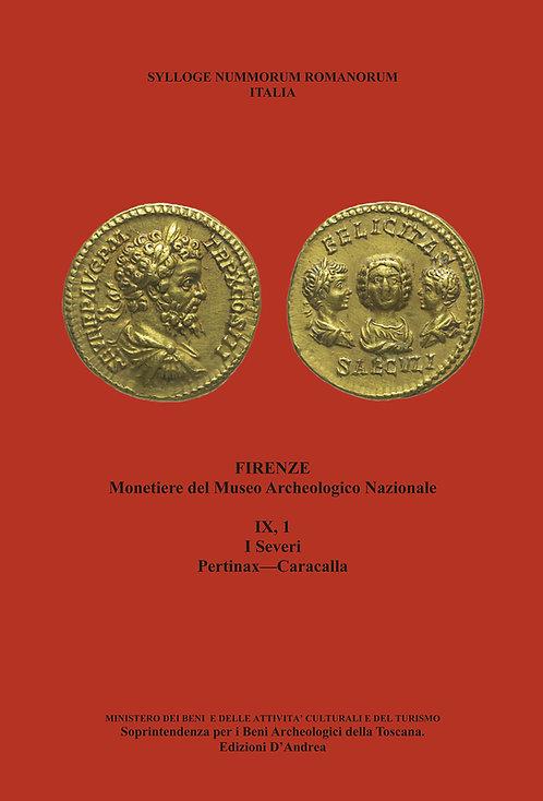 Sylloge Nummorum Romanorum - IX, 1 - Italia - Monetiere del Museo Archeologico