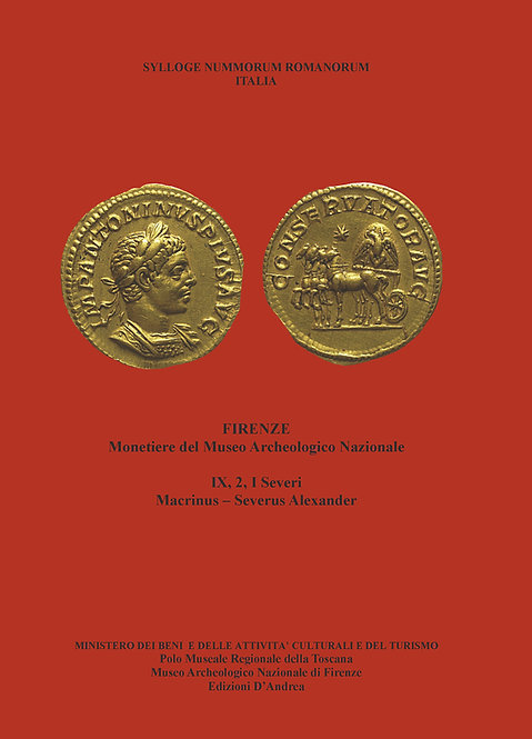 Sylloge Nummorum Romanorum - IX, 2 - Monetiere del Museo Archeologico Nazionale