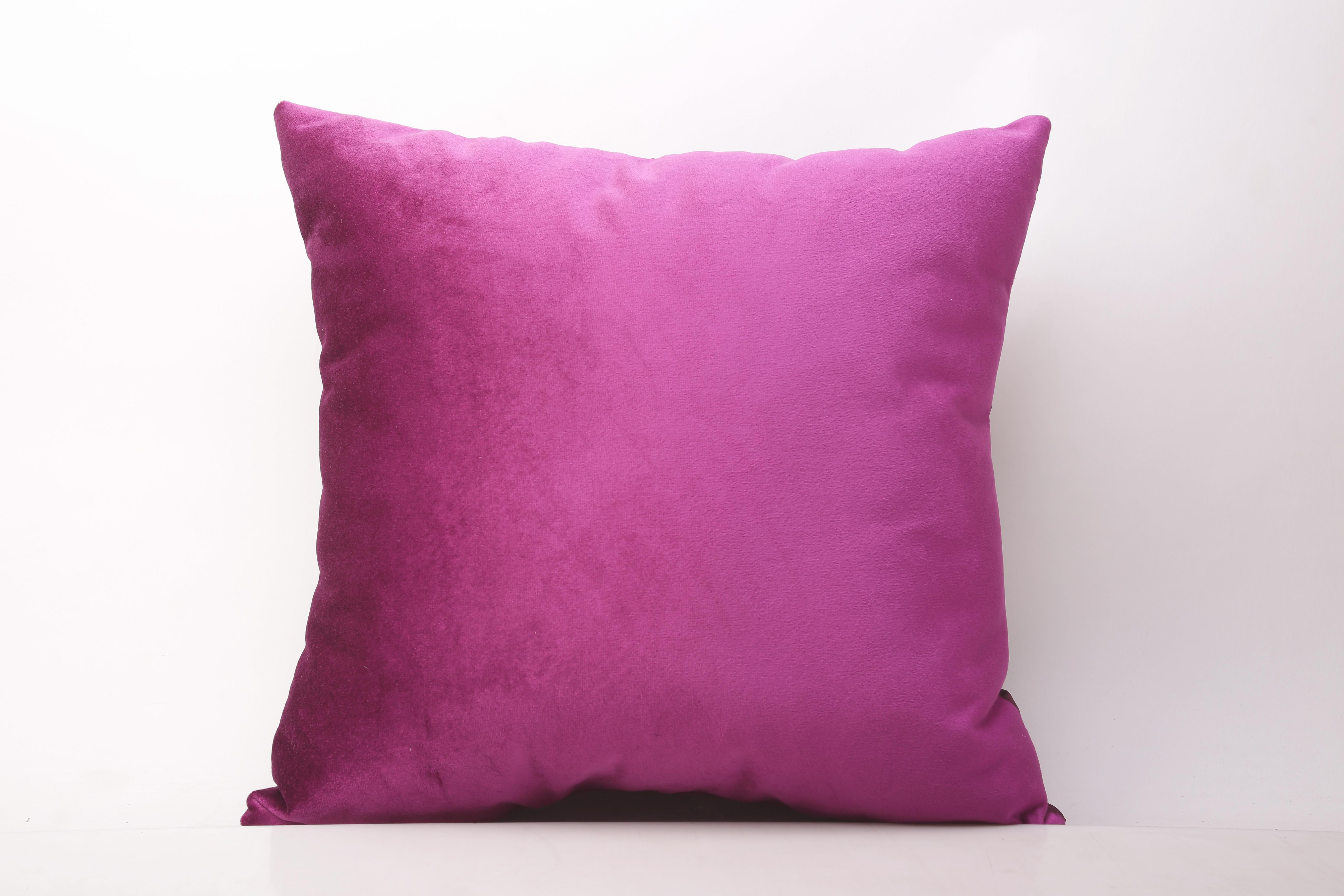 Bársony Díszpárna Pink