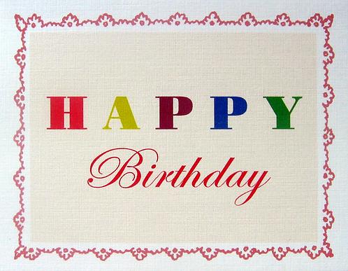 CC-307 Happy Birthday