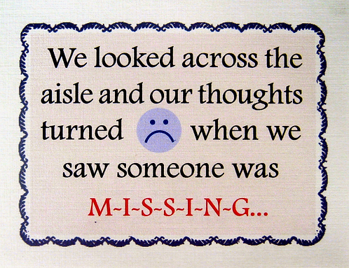 CC-053 Our Thoughts Turned Blue