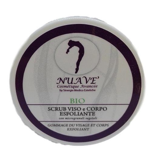 Scrub BIO viso e corpo esfoliante vegetale 100 ml.