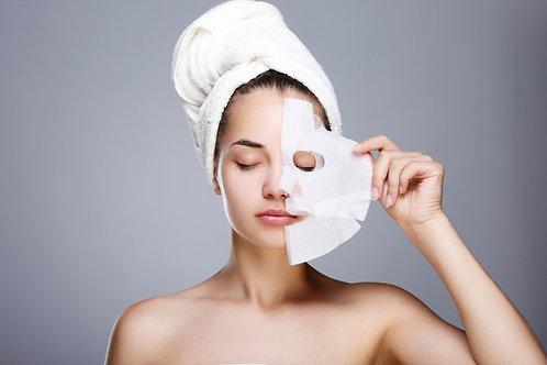 2 Maschere viso agli acidi ialuronici monouso