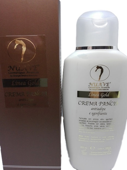 CREMA PANCIA ANTIADIPE E SGONFIANTE 200 ml. - LINEA GOLD