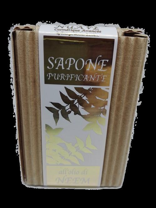 Sapone purificante all'olio di neem 100 gr.