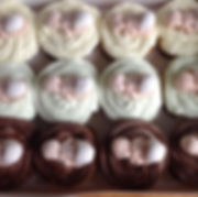 Baby shower cupcakes made to order #baby