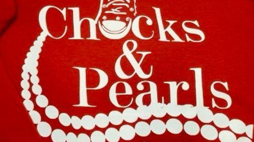 Chucks and Pearls Sweatshirt