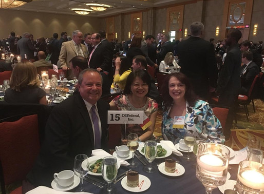 DSFederal sponsors Montgomery County Chamber of Commerce annual dinner