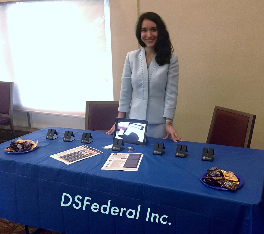 DSFederal's Larysa Nazarenko at DHRA Industry Day