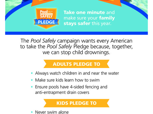 "Michael Phelps takes CPSC's ""Pool Safely"" pledge"