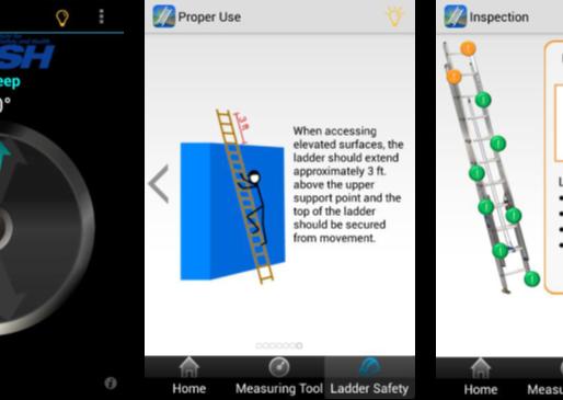 DSFederal's Ladder Safety App aids safe ladder use