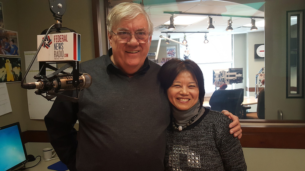 Mark Amtower of Federal News Radio with DSFederal CEO Sophia Parker