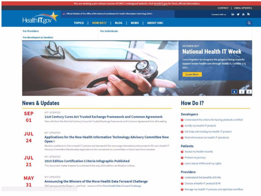 National Health IT Week: Connecting the dots with healthcare information technology