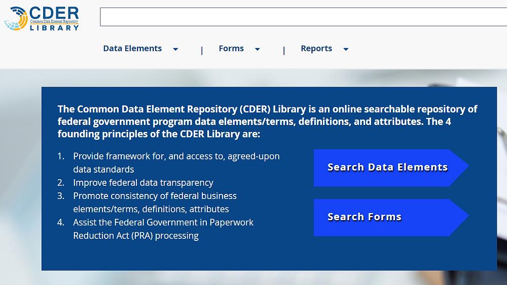 CDER Library screenshot
