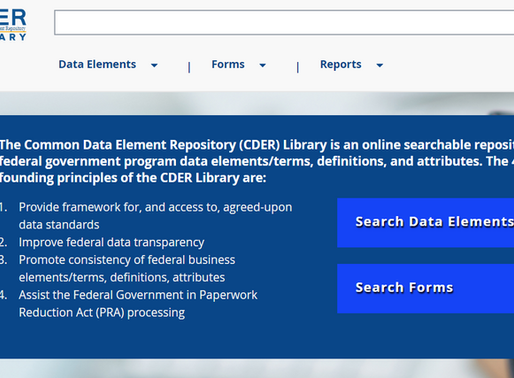 """Transforming Federal Government Reporting"": CDER Library featured in Data Foundation Repo"