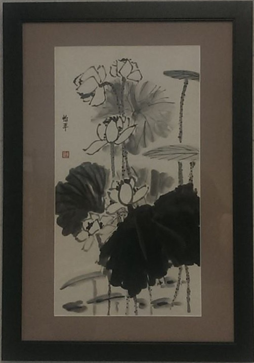 Chinese brush painting, by Jessica Chen
