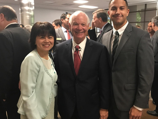 DSFederal attends business town hall meeting with Senator Ben Cardin