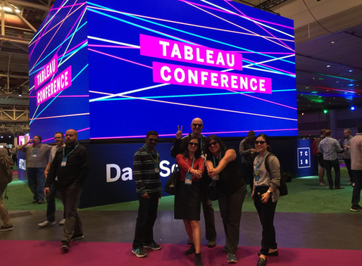 The coolest people at the hottest conference: DSFederal at Tableau Conference 2018