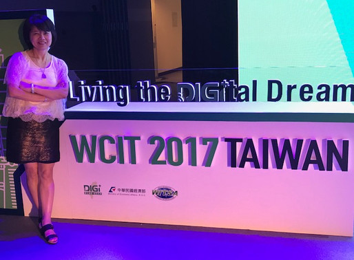 """""""Living the Digital Dream"""": DSFederal CEO Sophia Parker attends WCIT in Taipei"""