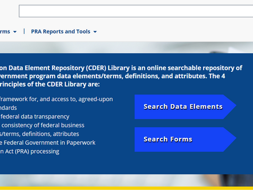 CDER Library's role in DATA Act compliance featured in OMB memo