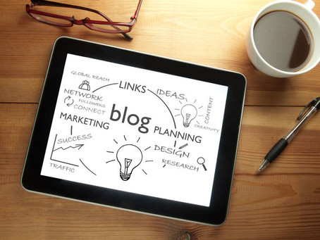 What do lawyers and accountants need to do to create good blog posts?