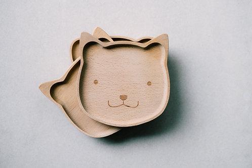 Children Wooden Plate