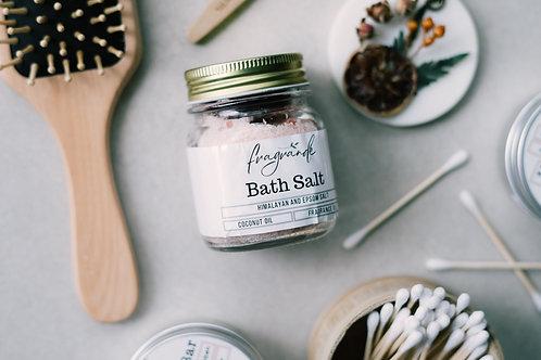 Bath Salt Jar