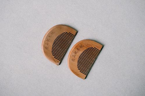 Mini Wooden Comb