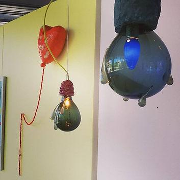 Balloon heart and Rain drops.Pinball  tr
