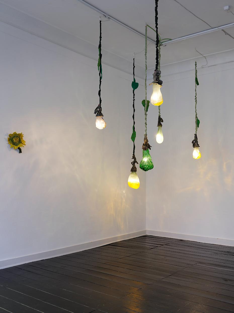 Mette vangsgaard, kunst, fine ats, lys installation, light installation ,glass ,ceramic, light