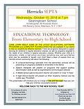 SEPTA educational technology meeting-pag