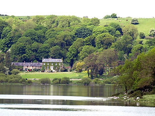 Lough Gur House, previously known as 'The Grange', built in 1786, presently home of the O'Sullivan family, previously the seat of the de Salis family, landlords.