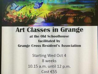 Artist, Kathy Tiernan, will teach you to paint!